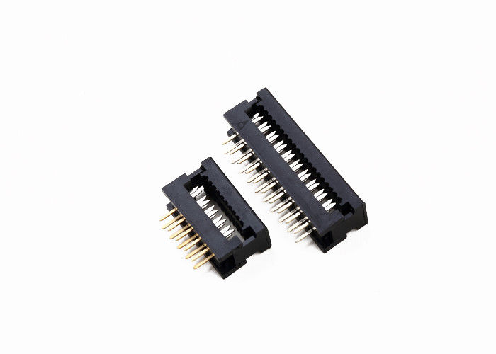 1.27mm Pitch 10 Pin Dip Socket  With 28AWG Wire Signal Transmission